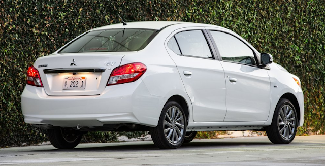 2018 Mitsubishi Mirage G4 Back