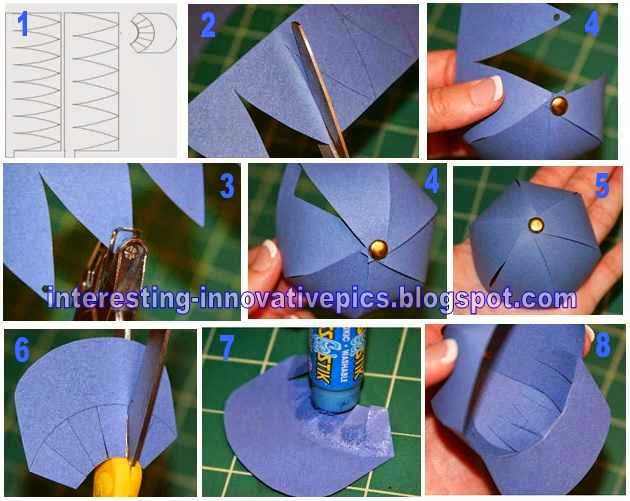 Making Paper Cap From Creative Idea For