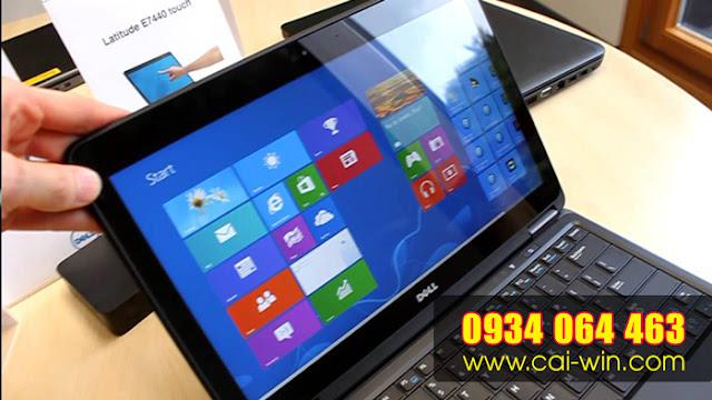 Cửa hàng nâng cấp windows 7 cho laptop Dell TPHCM