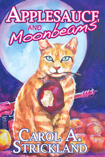 book cover for Applesauce and Moonbeams