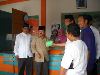 Bupati Ali Mukhni Minta Kadis Koperindag Selesaikan Polemik Pasar Padang Sago.