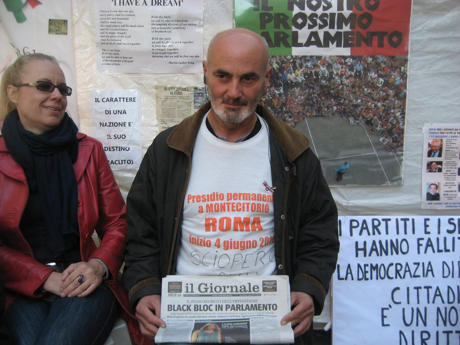 Angelo cristofanelli ieri nel covo segreto dei black bloc for Parlamento ieri