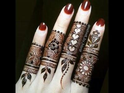 Fingers Mehndi Pics : Updated top mehndi designs for fingers wedding bels bridal
