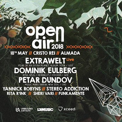 Cristo Rave - O 1º Open Air da LX Music
