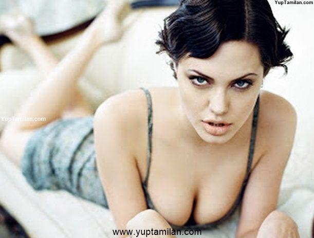 50 Sexiest Photos Of Angelina Jolie in Bikini Photoshoot