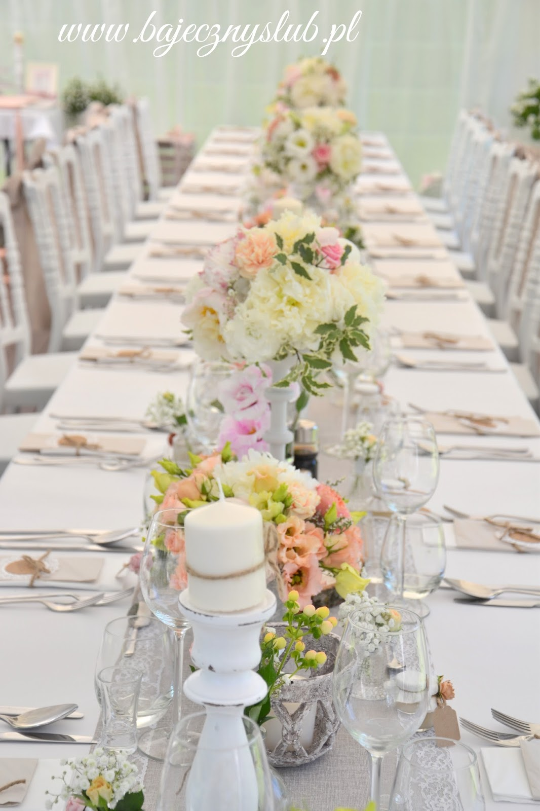 Bajeczny ślub świdnica Hotel Dębowy Dekoracje ślubne Weselne