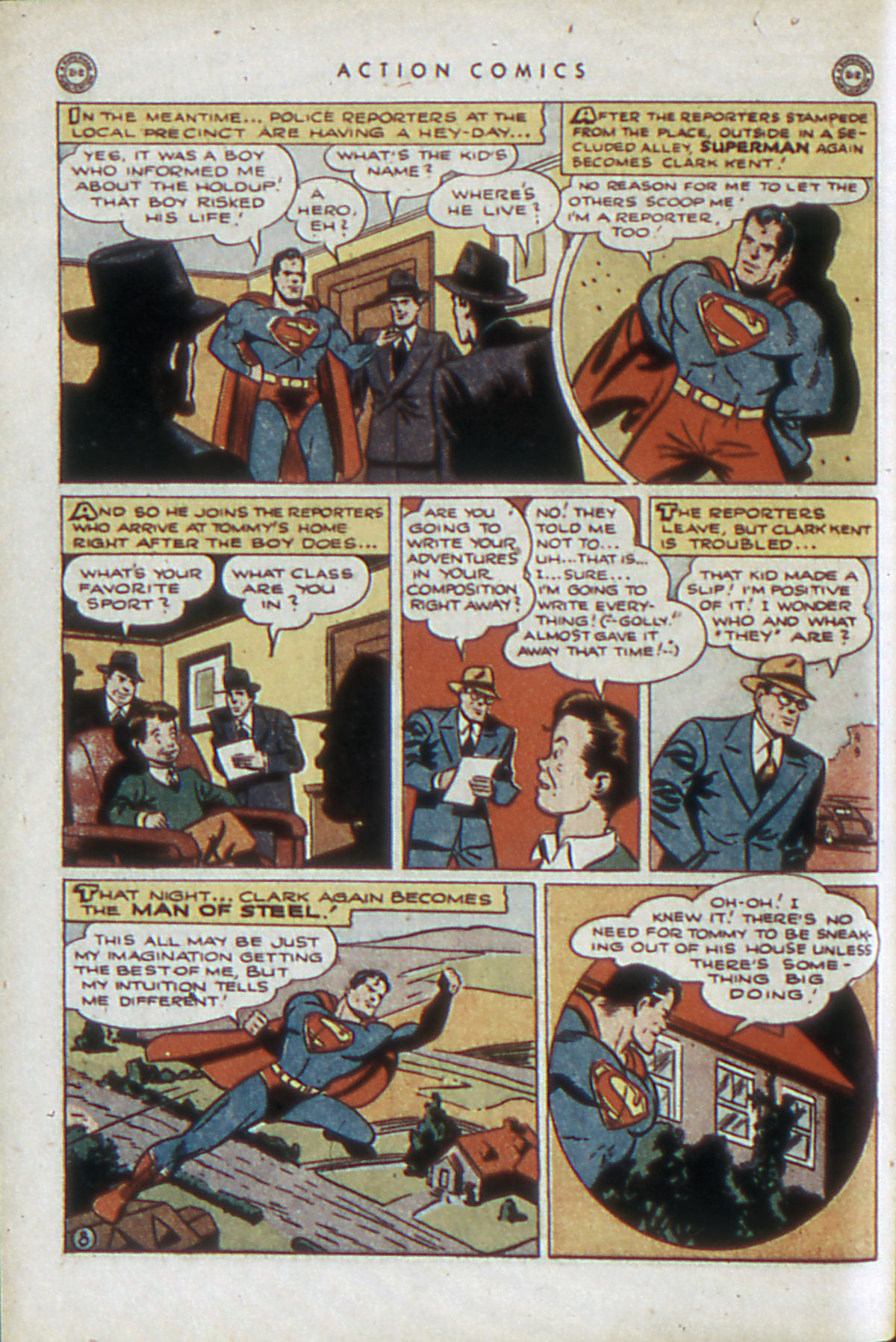 Read online Action Comics (1938) comic -  Issue #84 - 11