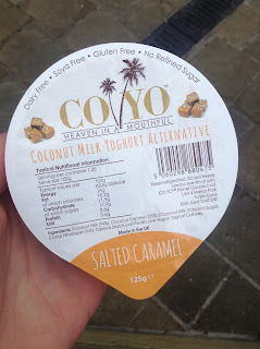 coyo salted caramel yogurt