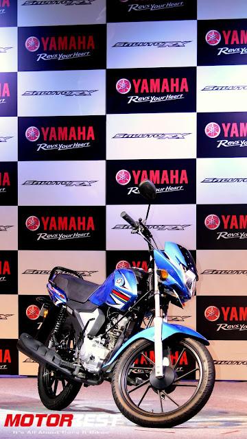 The Yamaha Saluto RX