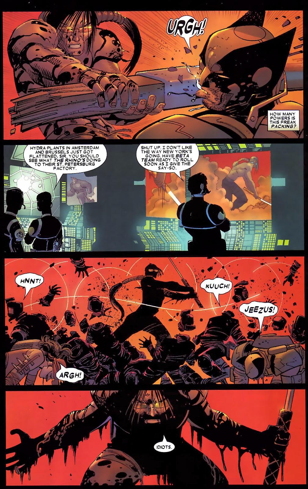 Read online Wolverine (2003) comic -  Issue #30 - 18