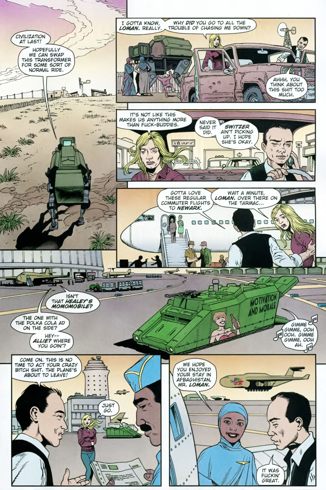 Read online Army @ Love comic -  Issue #12 - 15
