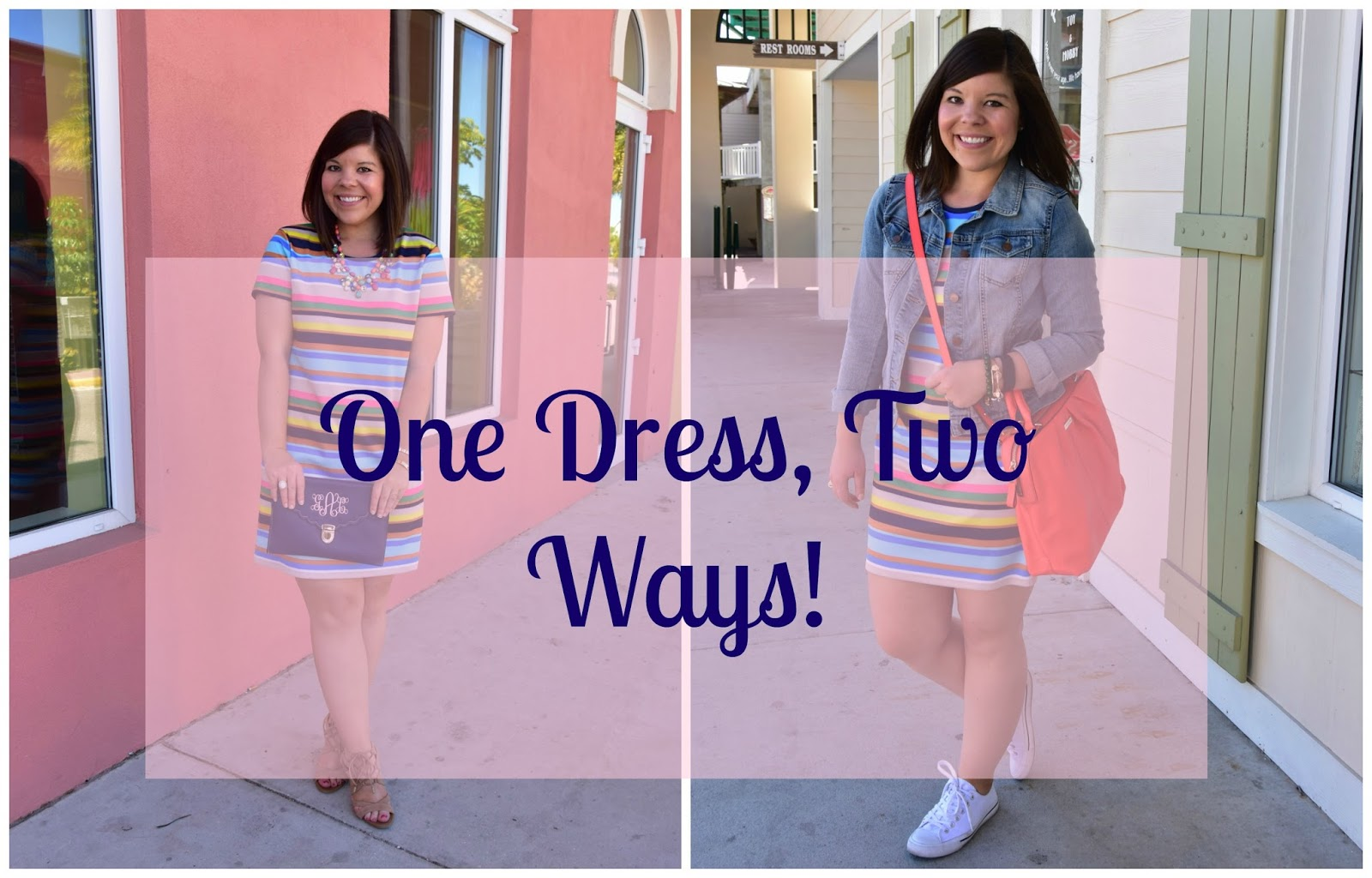 One Dress Two Ways- Look #2 (Weekend)