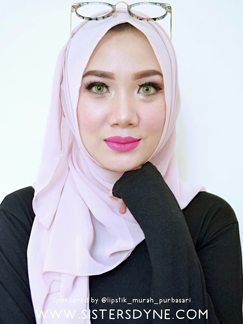 Wardah Exclusive Matte Lip Cream Fuschionately