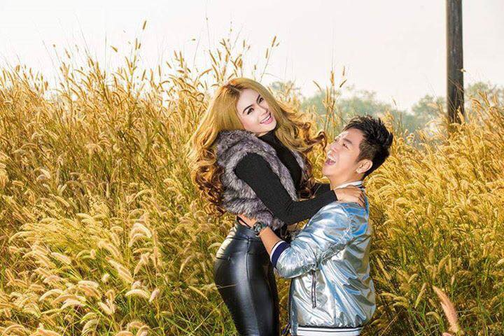 Shwe Sin and Sein Lin In Fashion Magaziner 2017 January Issue Cover Photoshoot