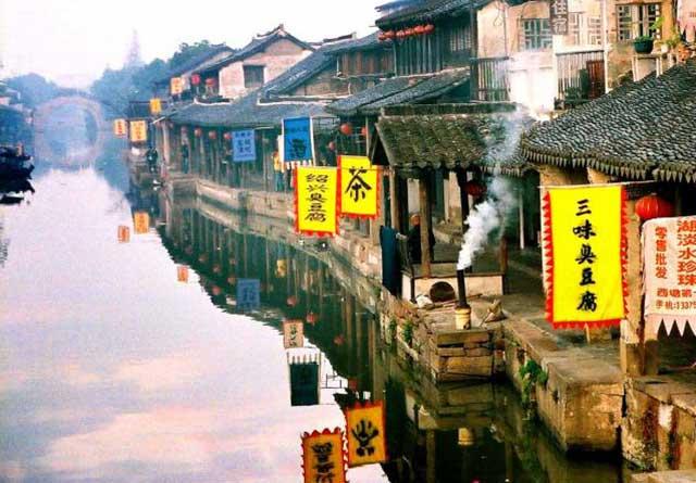 Kết quả hình ảnh cho Phố cổ Thanh Hà Phong