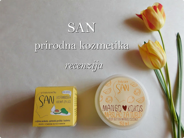 SAN, prirodna kozmetika, natural cosmetic, products, krema, vitamini, citrus, cream, moisturizer, butter, mango, coconut, kokos, body,