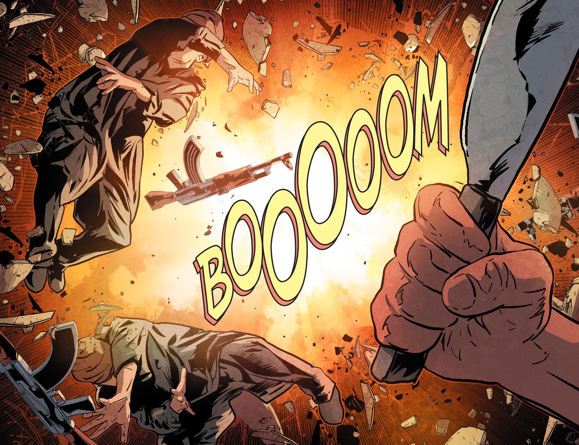 Read online Arrow: Season 2.5 [I] comic -  Issue #12 - 14