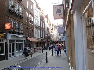 Calles del barrio de Covent Garden