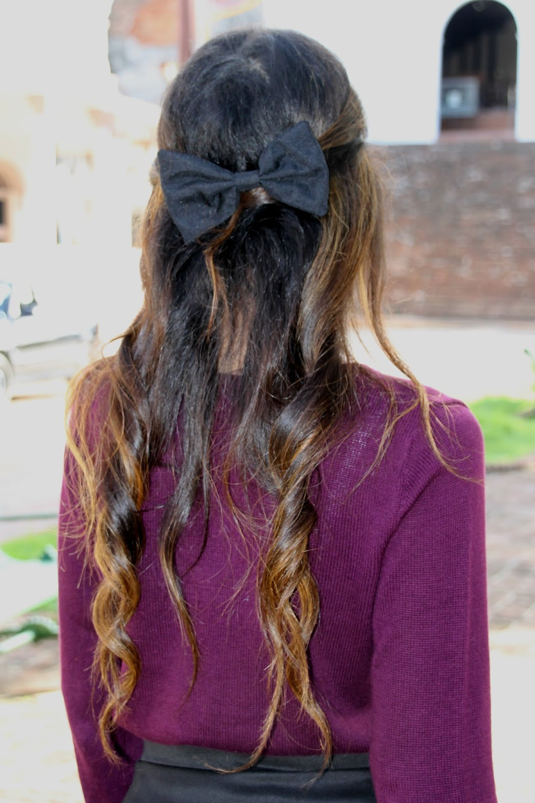 fall lookbook girly bow