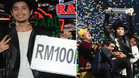 Mulianya Hati Mark Adam! Menang RM100,000, Bagi 4 Peserta Lain RM60,000, Ambil RM40,000 Sahaja.
