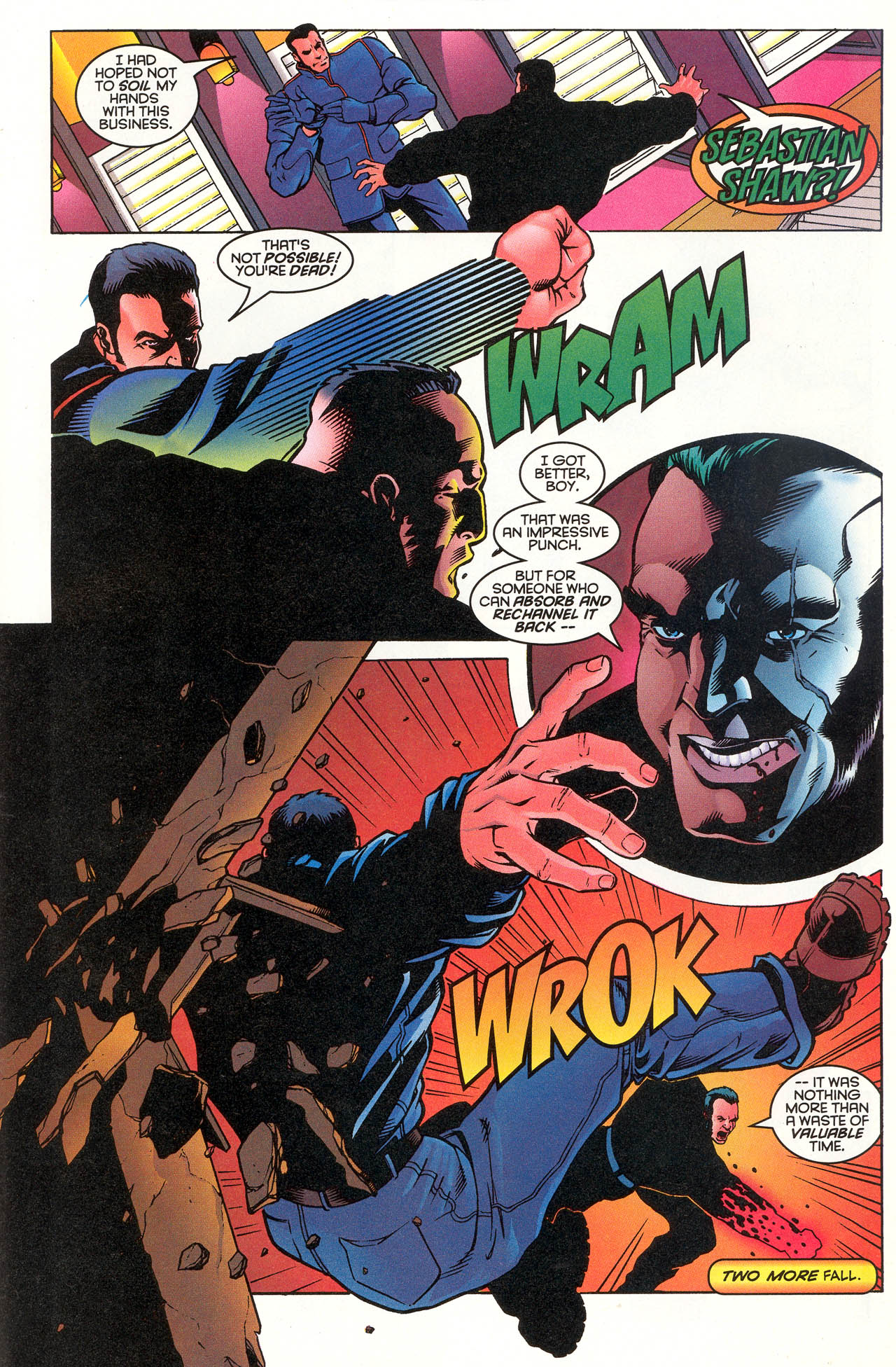 Read online X-Force (1991) comic -  Issue #49 - 21