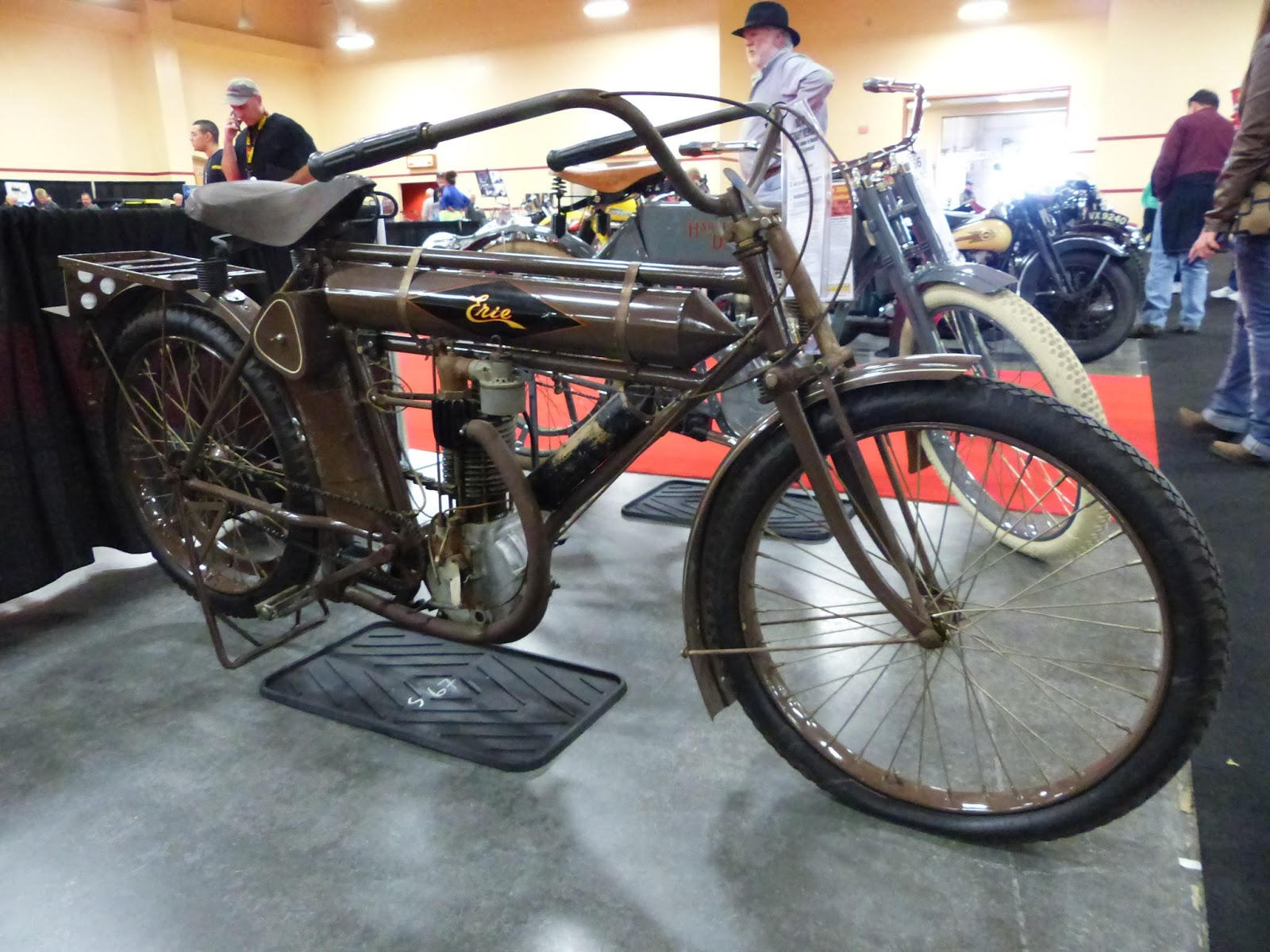 Oldmotodude 1910 Erie Belt Drive Sold For 43 000 At The
