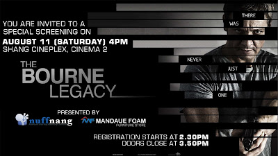 The Bourne Legacy Screening