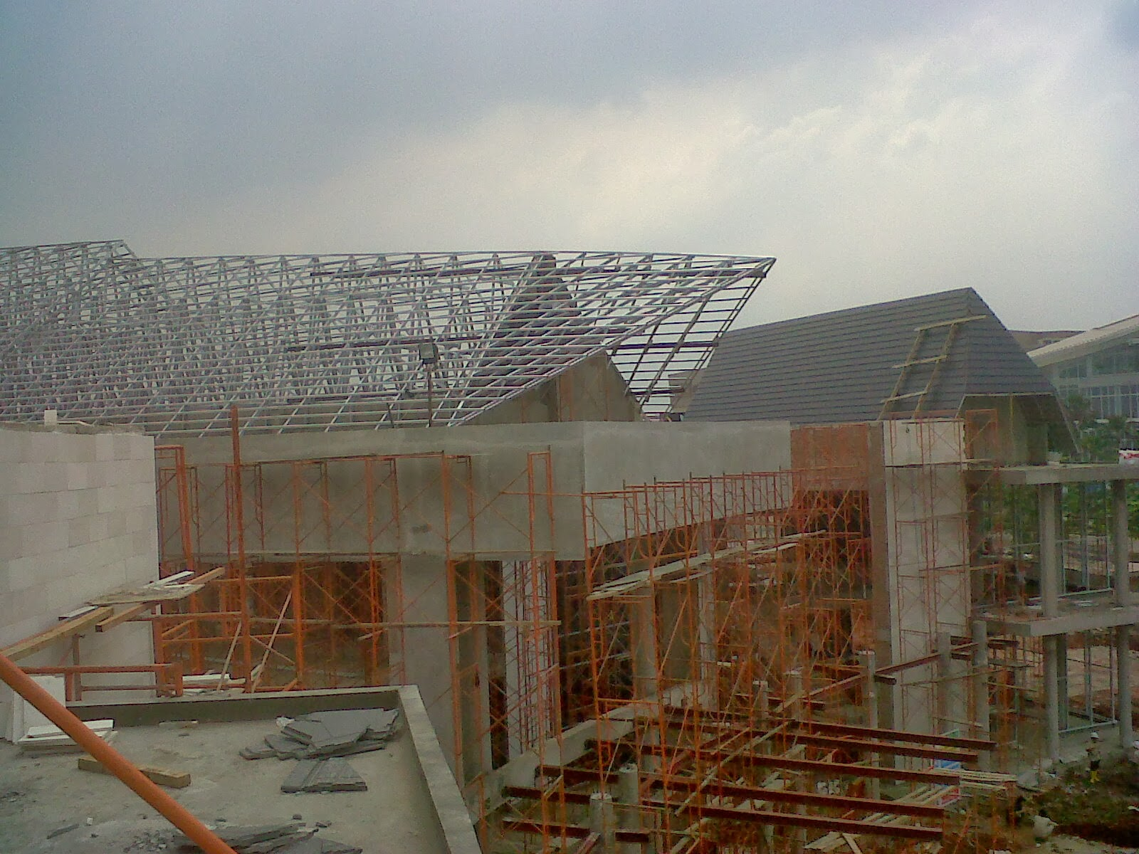 Gambar Model Rumah Atap Baja Ringan Interior Rumah