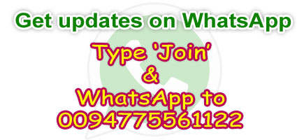 GET UPDATES ON WHATSAPP