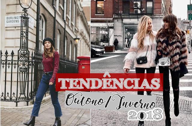 O que vai ser tendências no outono / inverno 2018