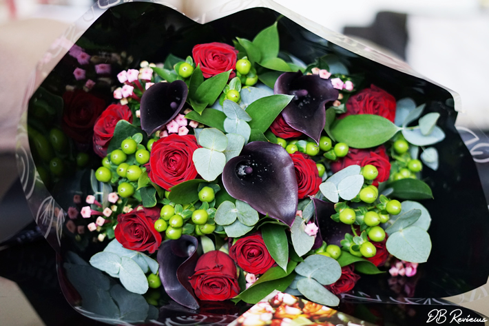 The Onyx Bouquet from Prestige Flowers