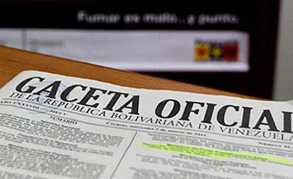 LÉASE ÚLTIMA NOTICIA DEL MERCOSUR en Gaceta oficial Nº 40.970 19 de agosto de 2016