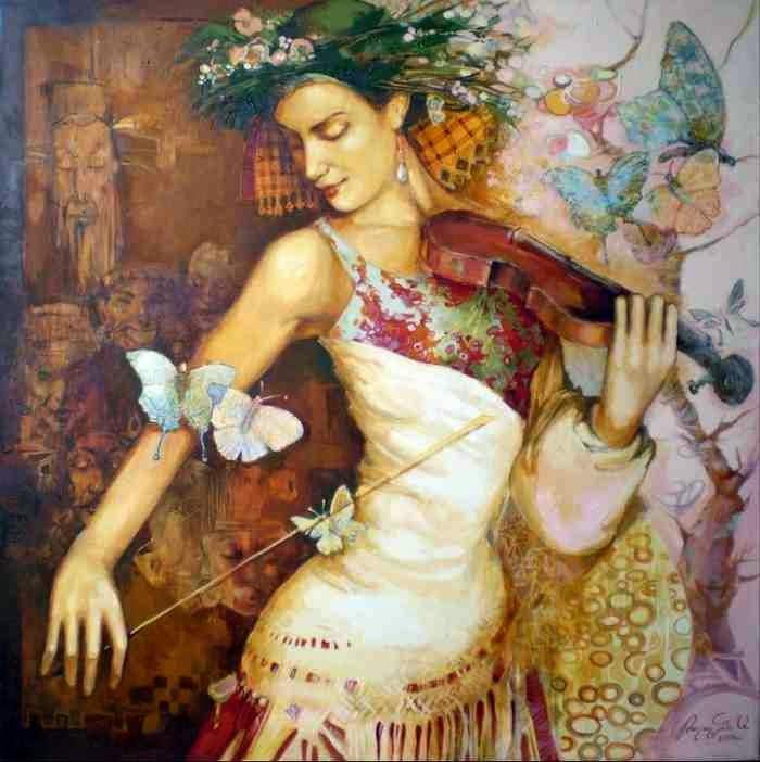 Современный армянский художник. Artavazd Talalyan