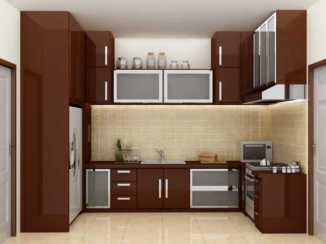 kitchen set bentuk U