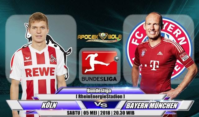 Prediksi FC Koln vs Bayern Munich 5 Mei 2018