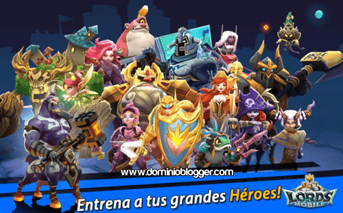 Lords Mobile gratis para Android