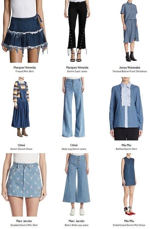 Artsy Designer Denim Fashion