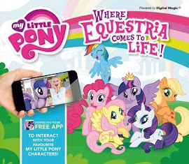 MLP Where Equestria Comes to Life Book Media