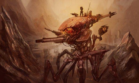 Kory Cromie geniusfetus deviantart ilustrações sombrias fantasia ficção científica