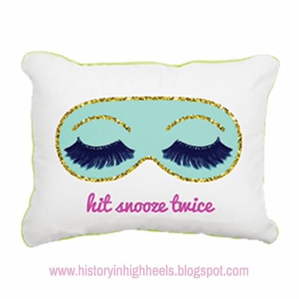 History In High Heels Custom Pillows