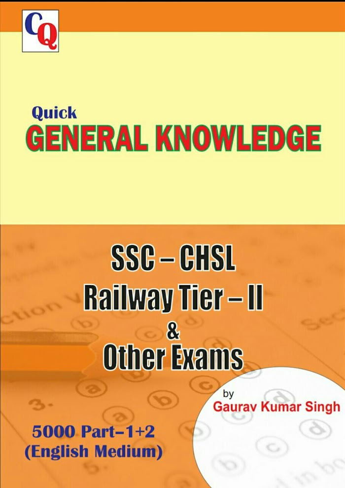 Quick General Knowledge Book for SSC, Railways & Other Exams