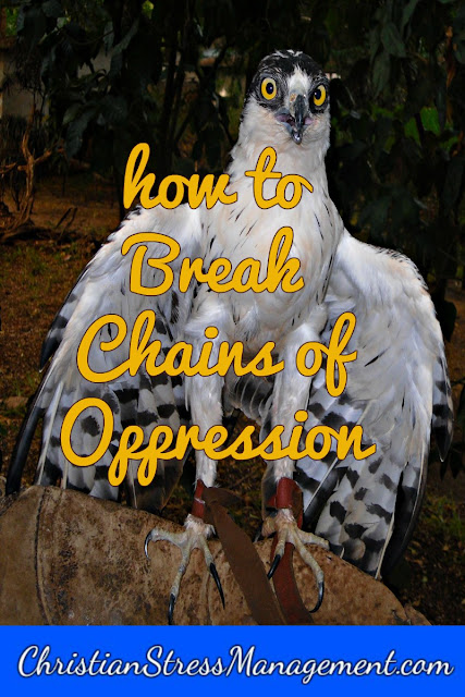 How to break chains of oppression
