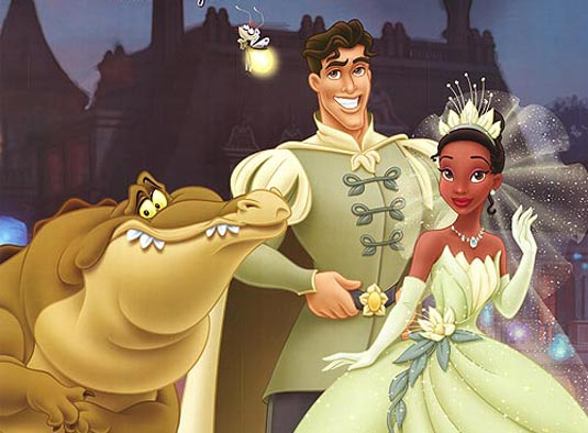 Louis Prince Naveen Tiana The Princess and the Frog 2009 animatedfilmreviews.blogspot.comn