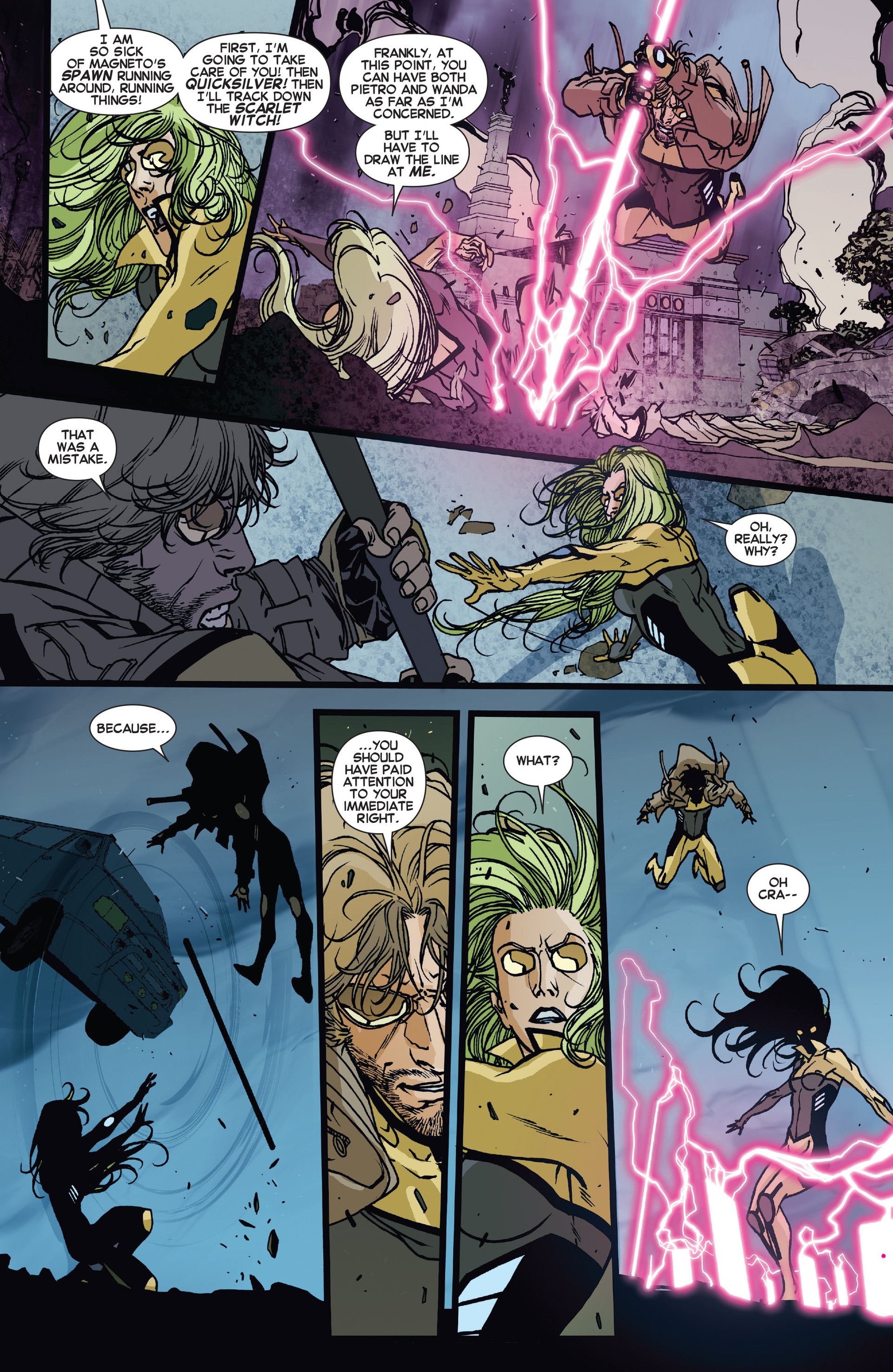 Read online All-New X-Factor comic -  Issue #15 - 16