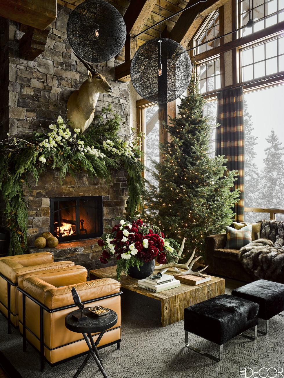 Christmas decorated rooms - The Loveliest Christmas Decorated Rooms