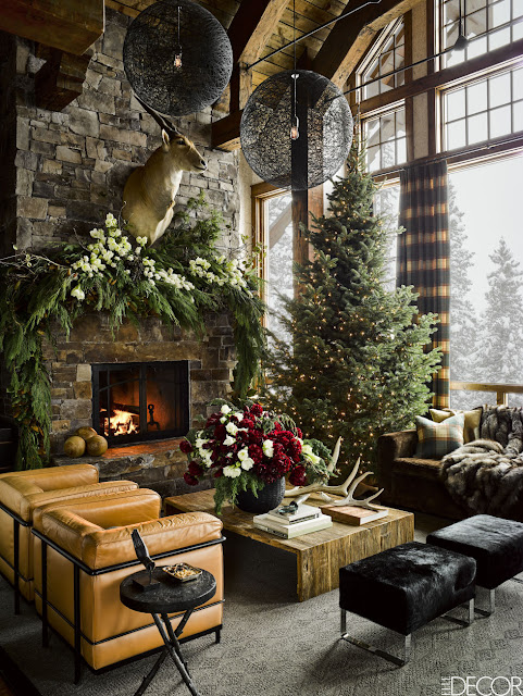 image result for living room ski house in Montana mountains designed by Ken Fulk Halfway House