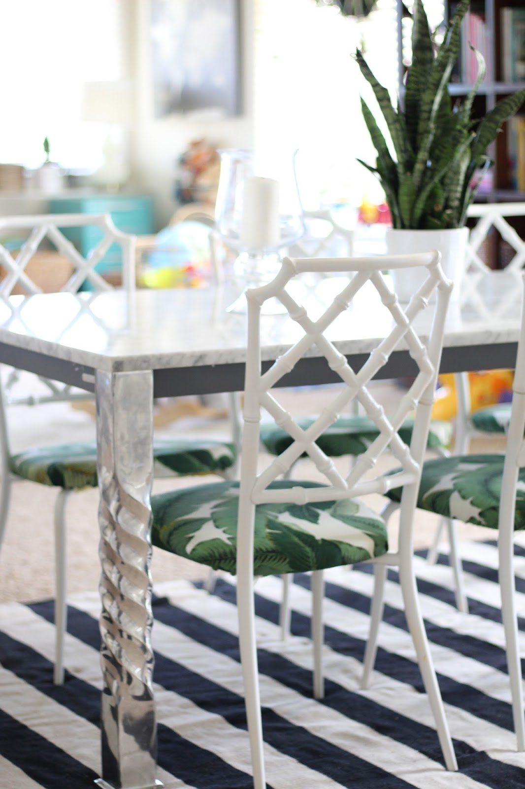 bamboo dining chairs. DIY Vintage Faux Bamboo Dining Chairs Update