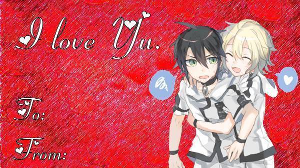 Anime Valentines Day Cards – Anime Valentines Card