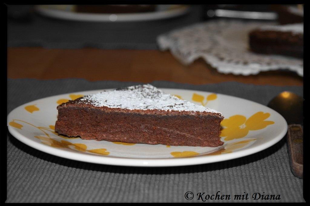 Schokoladentorte. Glutenfrei