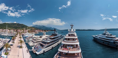 Berth for yacht of 250m
